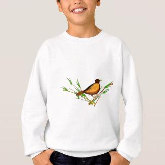 Sparrow Sitting On Branch Sweatshirt