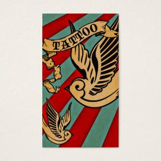 sparrow tattoo coupon card