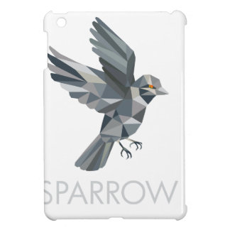 Sparrow Text Low Polygon Case For The iPad Mini