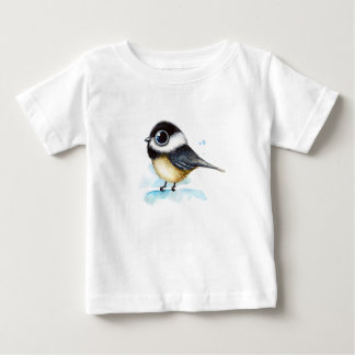 Sparrow watercolor baby T-Shirt