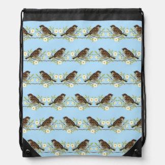 Sparrows Drawstring Bag