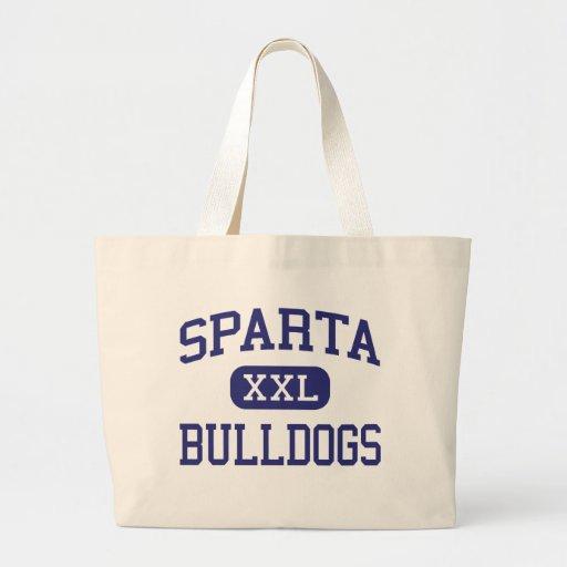 Sparta - Bulldogs - High School - Sparta Illinois Tote Bags