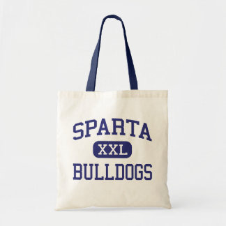 Sparta - Bulldogs - High School - Sparta Illinois Budget Tote Bag