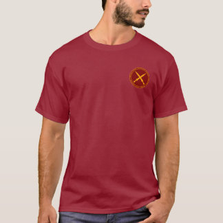 Spartacus Gold and Maroon Seal Shirt