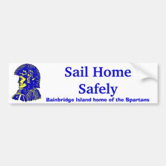 spartan6, Bainbridge Island home of the Spartan... Bumper Sticker
