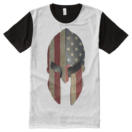 Spartan All-Over-Print T-Shirt