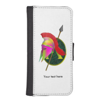 Spartan Armor and helmet iPhone SE/5/5s Wallet Case