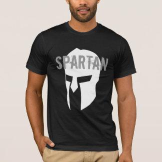 Spartan basic american black T-shirt
