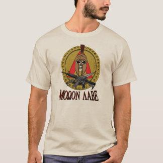 Spartan Molon Labe Poster Rd Shirt