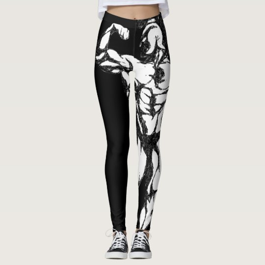 Spartan muscle bodybuilding gym workout leggings