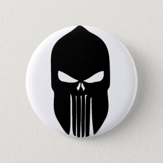 Spartan Skull 2 Inch Round Button