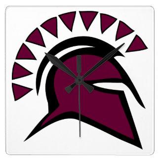 Spartan Square Wall Clock