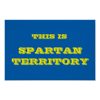 Spartan Territory Poster