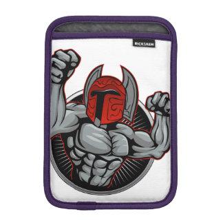 Spartan Trojan Mascot iPad Mini Sleeve