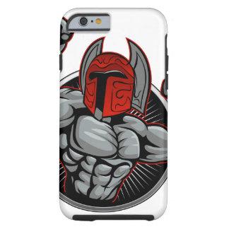 Spartan Trojan Mascot Tough iPhone 6 Case