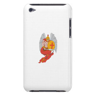 Spartan Warrior Angel Sword Rosary Drawing iPod Touch Covers