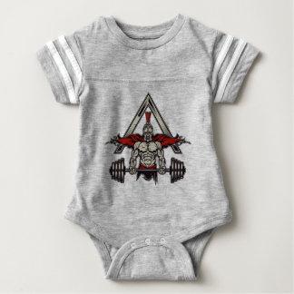 Spartan Warrior Baby Bodysuit