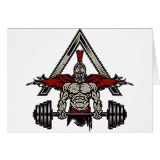 Spartan Warrior Card