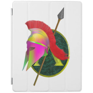 Spartan Warrior Colorful iPad Cover
