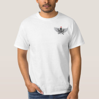 Spartan Warrior Crossed Swords T-Shirt