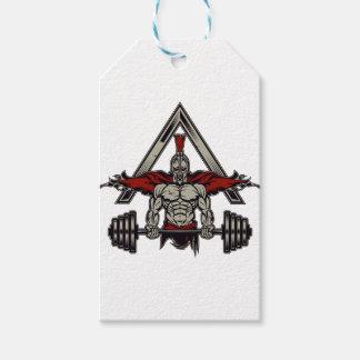 Spartan Warrior Gift Tags