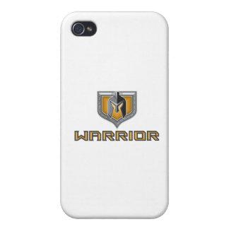 Spartan Warrior Helmet Shield Retro Case For iPhone 4