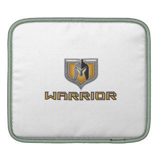 Spartan Warrior Helmet Shield Retro iPad Sleeve