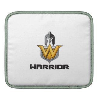 Spartan Warrior Helmet Shield W Retro iPad Sleeve
