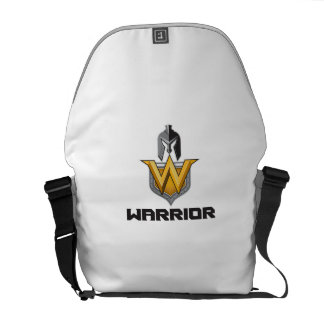 Spartan Warrior Helmet Shield W Retro Messenger Bags