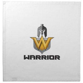 Spartan Warrior Helmet Shield W Retro Napkin