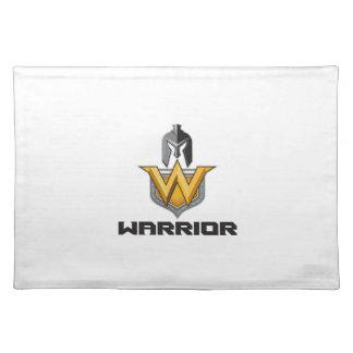 Spartan Warrior Helmet Shield W Retro Placemat