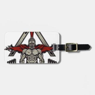 Spartan Warrior Luggage Tag