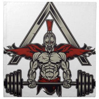 Spartan Warrior Napkin