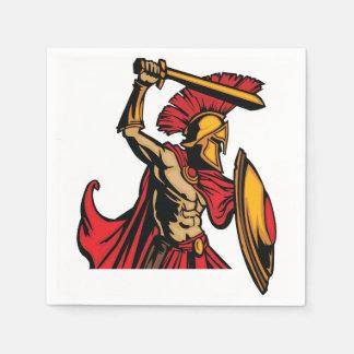 Spartan Warrior Paper Napkins