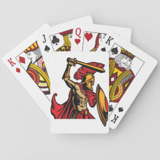 Spartan Warrior Playing Cards