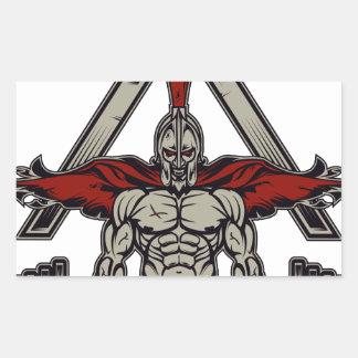 Spartan Warrior Sticker
