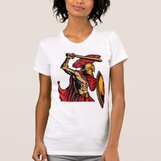Spartan Warrior Womens T-Shirt