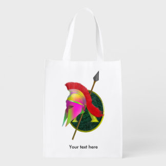 Spartan Weapons Grocery Bags