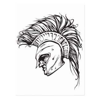 Spartans Postcard