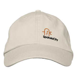Spatula City Adjustable Hat Embroidered Hats