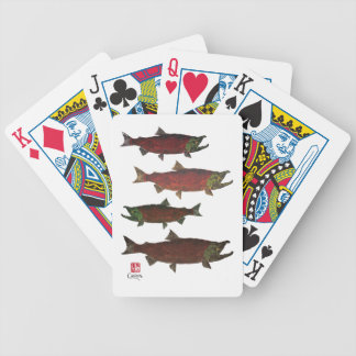 Spawning Salmon - Bicycle Playing Cards