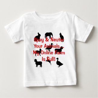 spay and neuter baby T-Shirt