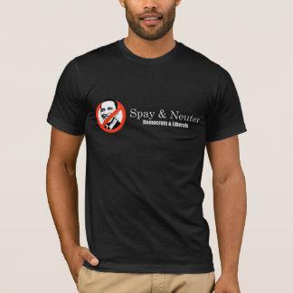 Spay and Neuter Liberals T-shirt