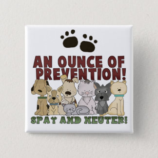 Spay and Neuter Your Pets Button