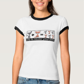 Spay And Neuter Your Pets T-Shirt