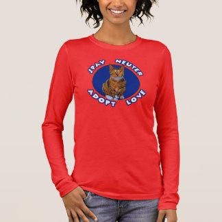 Spay Neuter Adopt Love Long Sleeve T-Shirt