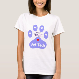 Spay, Neuter, Adopt Vet Tech T-Shirt