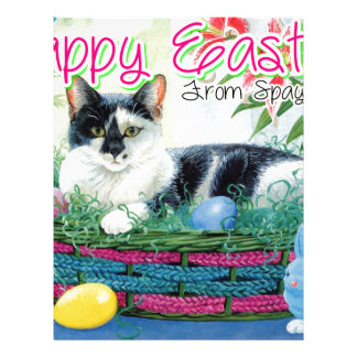 Spaymart Easter Custom Letterhead