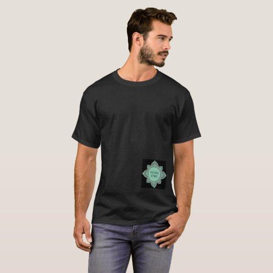 SPBFitness MethodMens Black Basic Tshirt