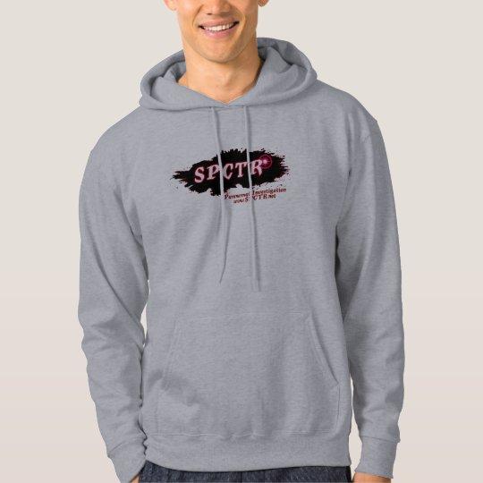 SPCTR red tinted hoodie